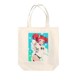 ガニ子 Tote bags