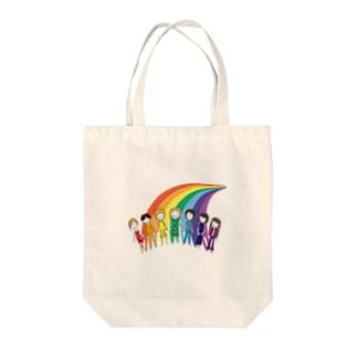 七色の人 Tote bags