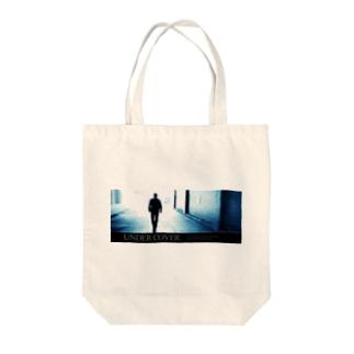 アンダーカバー「シルエット」横 Tote bags