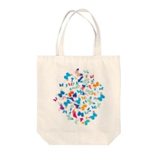 バタフライ-b Tote bags