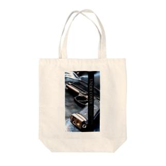 アンダーカバー「GUN」縦 Tote bags