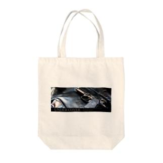 アンダーカバー「GUN」横 Tote bags