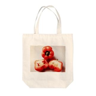 ぱぷりか Tote bags