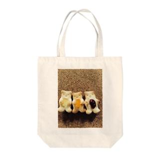 さくさくクッキーベアー Tote bags