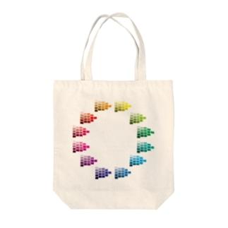 トーンチャート Tote bags