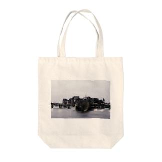 ひろのパリ Tote bags