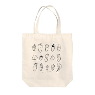 どんぐりぼうや Tote bags