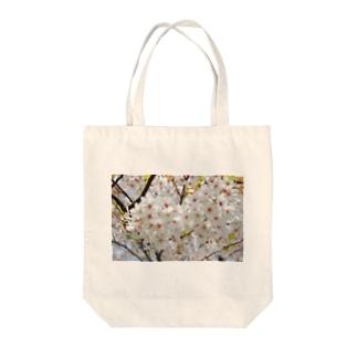 ひろのさくら Tote bags
