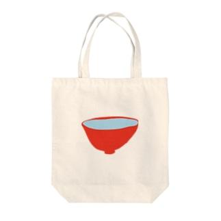 お椀 Tote bags