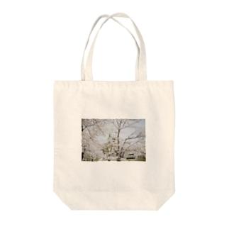 花と城 Tote bags