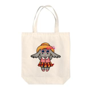 カガヤキライ Tote bags