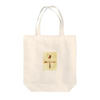 スプーン+フォーク Tote bags
