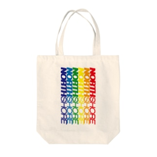 NORTH SHORE rainbow2 Tote bags