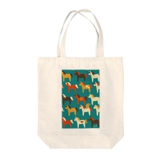 ポニーちゃん Tote bags