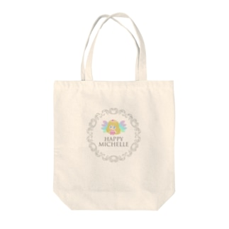 Happyミシェル-wing Tote bags