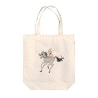 うさぎのマミィ ナポレオン Tote bags