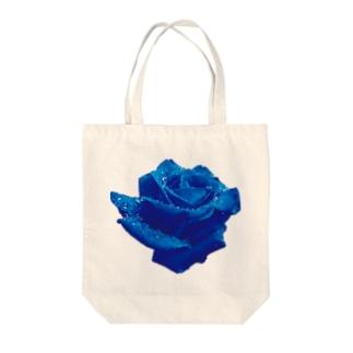 ttsoulのブルーローズ Tote bags