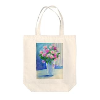 盛り花 Tote bags