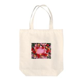 薔薇バラ Tote bags