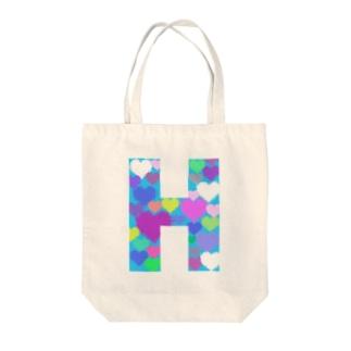HOKUTOのH Tote bags