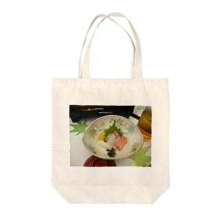 やまゆりのお刺身 Tote bags