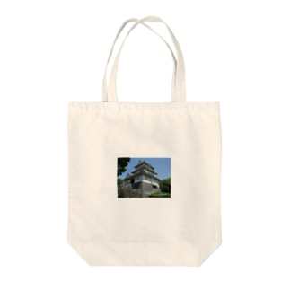 Castle of Odawara Tote bags
