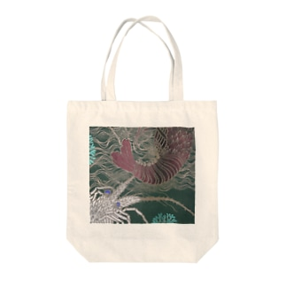 Japanese spiny lobster Tote bags