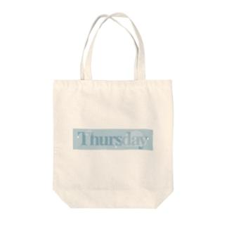 rainyTHURSDAY Tote bags