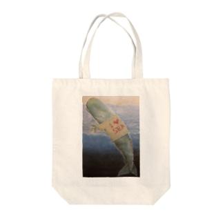 I love sea Tote bags