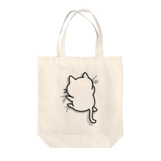 ねこガシッ(孤独) Tote bags