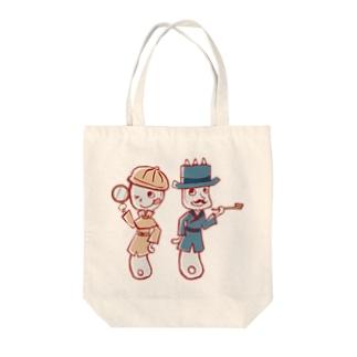 スプーン探偵と助手フォーク Tote bags