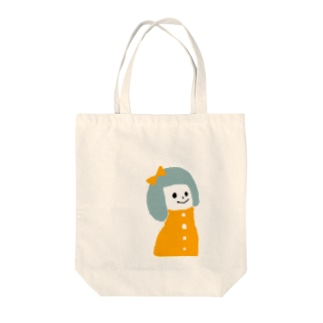 a girl Tote bags