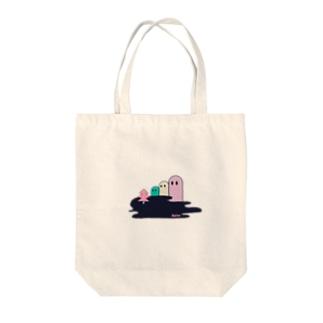 Delta02 Tote bags