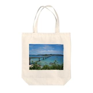 角島大橋 Tote bags