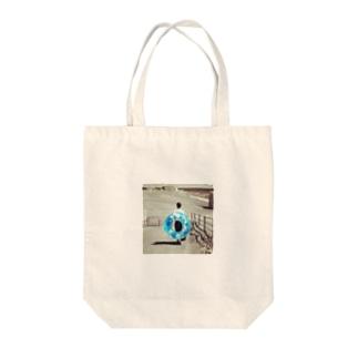 浮き輪 Tote bags