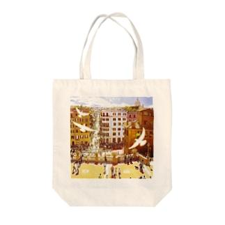 クアドリフォリオ Tote bags