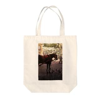 一秒のペガサス(縦長) Tote bags