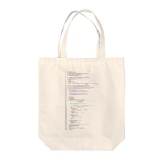 ソースコード(Objective-C) Tote bags