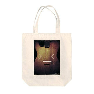 照れクション Tote bags