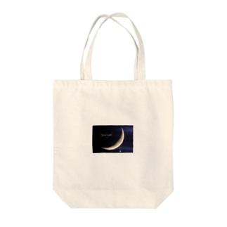 月のペンダント トートバッグ