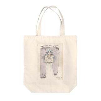 アプラクサス神イラスト Tote bags