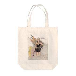 イナンナ神のイラスト Tote bags