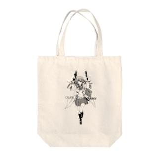 ダッフルコートアーミー Tote bags