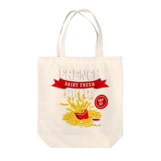 French Fries Series Tote bags