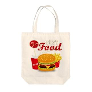 Fast Food Series Tote bags