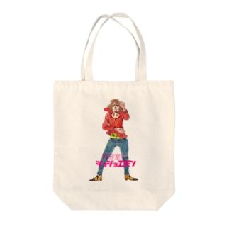 ジョジョエモン Tote bags
