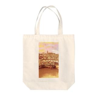 ポンテベッキオ Tote bags