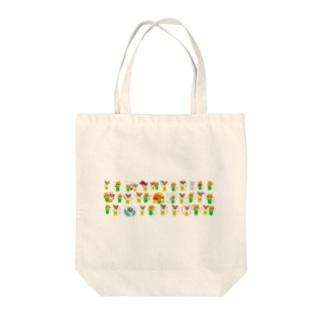 Shiba CAN & Tora CAN Tote bags