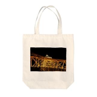 ヒロセ Tote bags