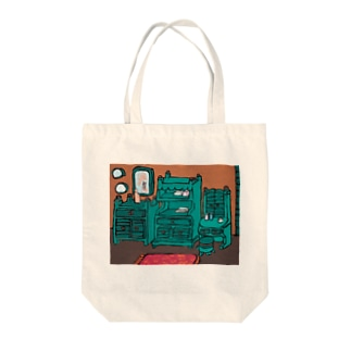 green furniture Tote bags